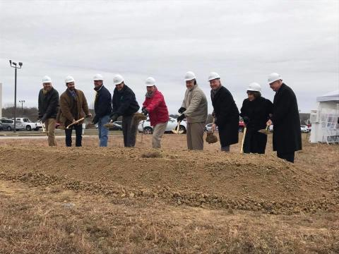 New theater groundbreaking