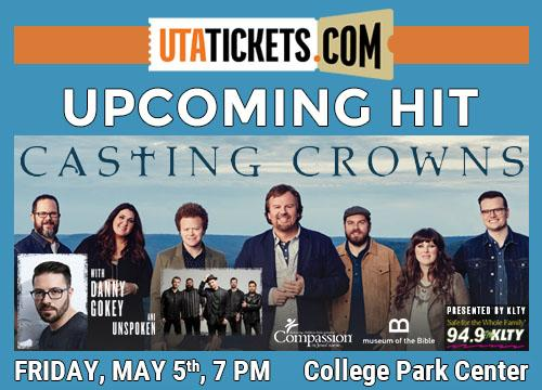 UTA TICKETS- Casting Crowns