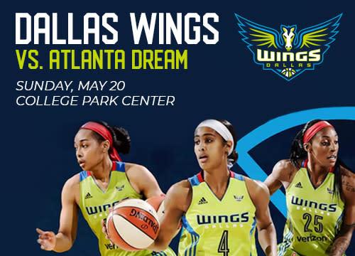 Dallas Wings v Atlanta Dream | utatickets.com