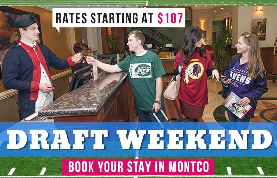 Draft Weekend Hotel Packages - Rates Starting at $107 / Night