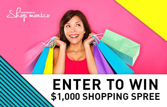 Enter to Win a $1,000 Shopping Spree. Click for Details.