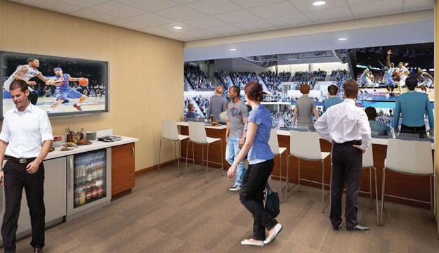 Wintrust Arena Suite