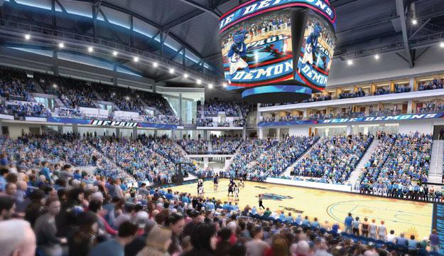 Wintrust Arena DePaul Blue Demons Basketball Game