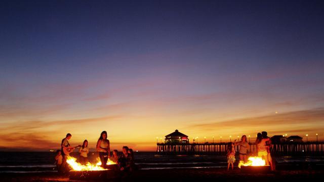 Bonfire Pier