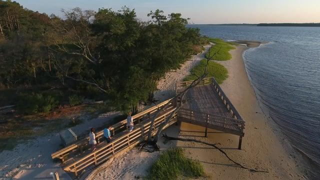 Video Thumbnail - vimeo - Carolina Beach State Park, Carolina Beach, NC