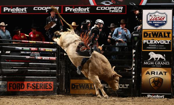 Professional Bull Riding 2017, PBR