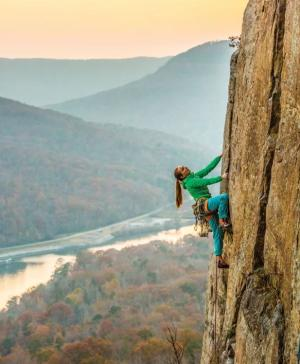 Climing_Tennessee Wall