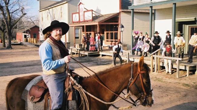 Old Cowtown Museum Randy and Town
