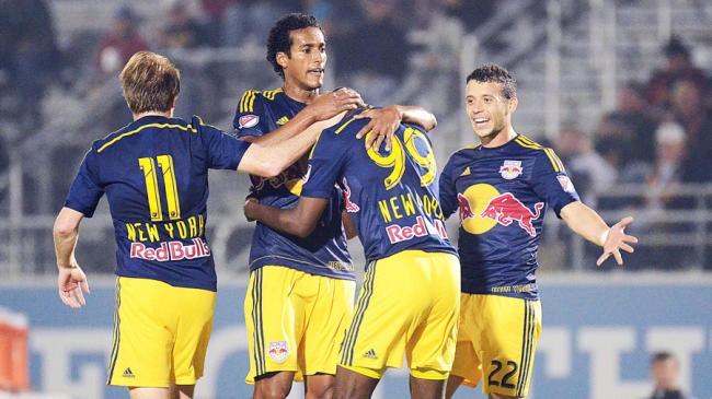 New Red Bulls Jersey's