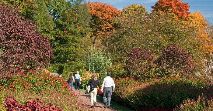 Fall at Longwood Gardens