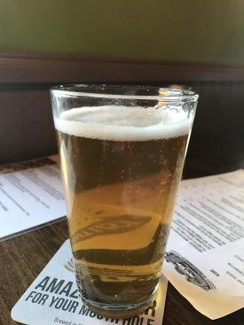 A delicious Murphy's blonde ale from Brew Link in Plainfield.
