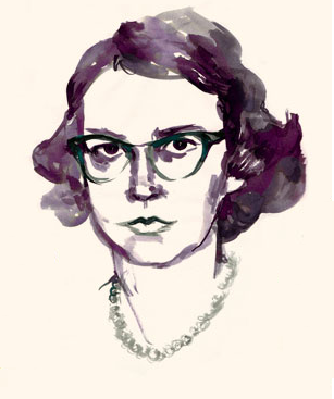Flannery O'Connor painting