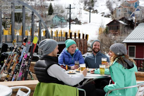 Spring Skiing Photo - Outdoor Dining