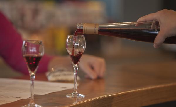 Wine Tasting at Black Star Farms