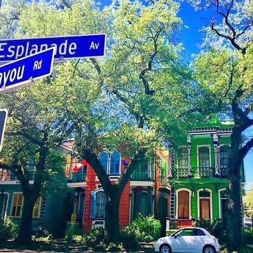 Esplanade Avenue @ Bayou Road