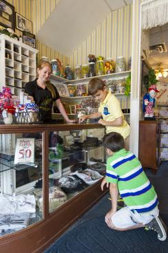 Mayberry Cafe front counter