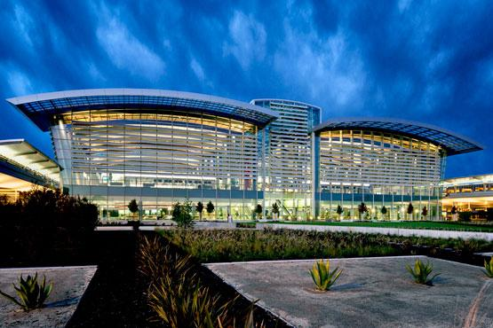 the new terminal at Sacramento International Airport