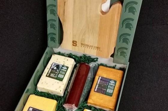 MSU Cheese gift pack