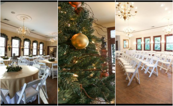 White Willow Weddings and Events Center Christmas Time