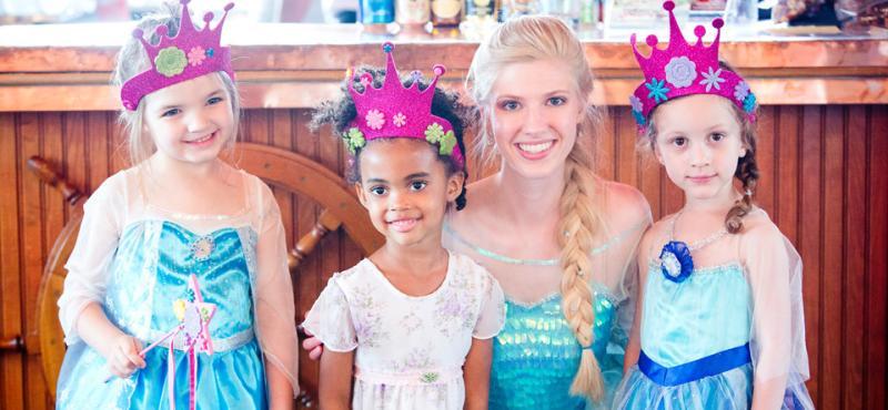 Princesses on the Pride
