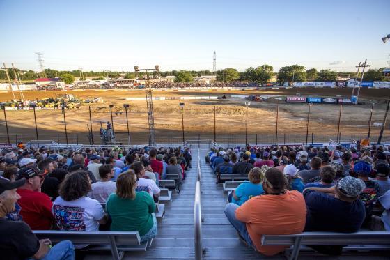 Rockford Speedway Crowd