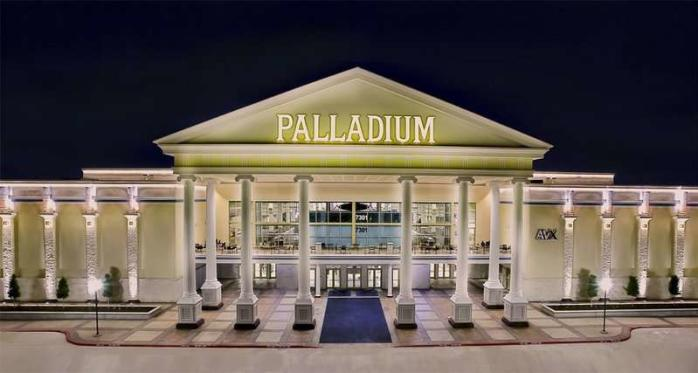 Santikos Palladium AVX Entertainment Building