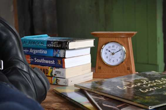 Amana Small Woodland Clock