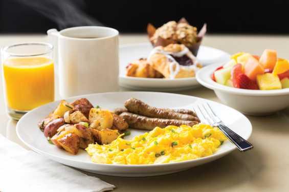Homewood Suites Breakfast
