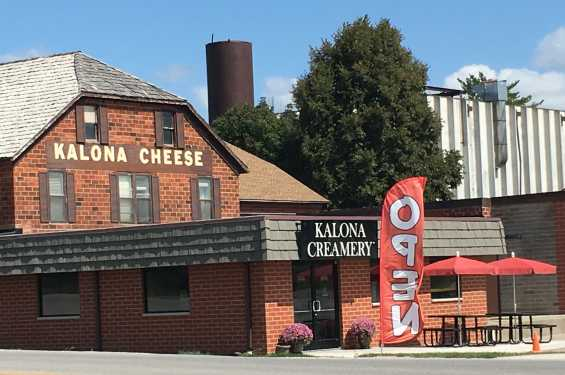 Kalona Creamery Now Open