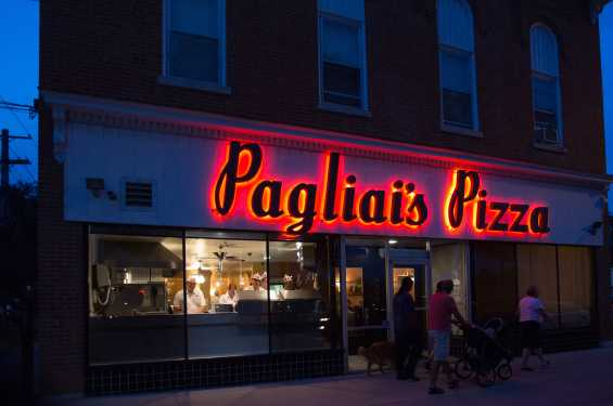 Pagliai's at Night