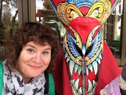 Jennifer Huber in Loei Province of Thailand
