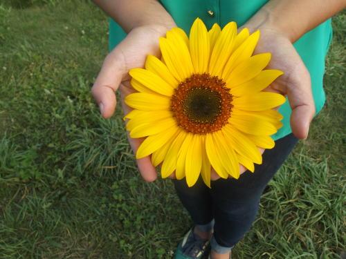"""A handful of sunshine!"""