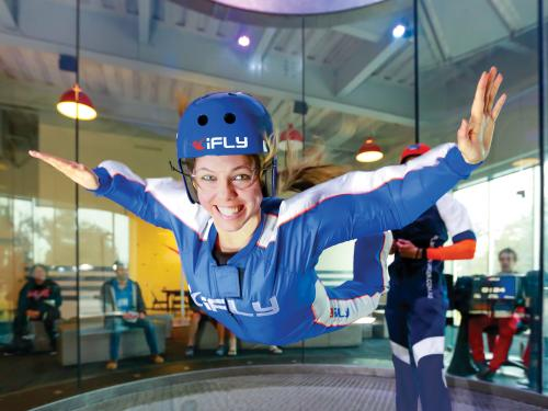 iFly Tampa Woman