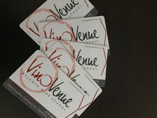 Vino Venue Cards