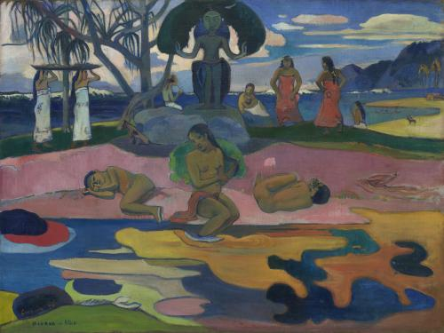 Paul Gauguin, French, 1848-1903, Day of the God, 1894, Oil on canvas, 68.3 x 91.5cm