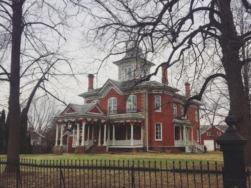 Cook-Rutledge Mansion Christmas