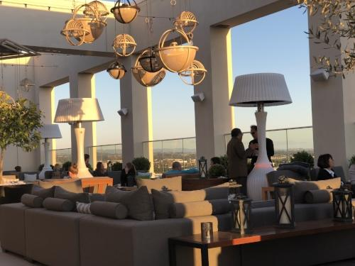 hh rooftop bar seating