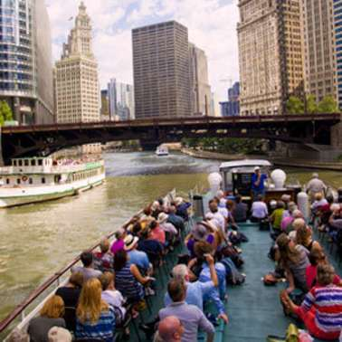 Chicago Architecture Foundation River Cruise aboard Chicago's First Lady Cruises