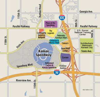Village West Map