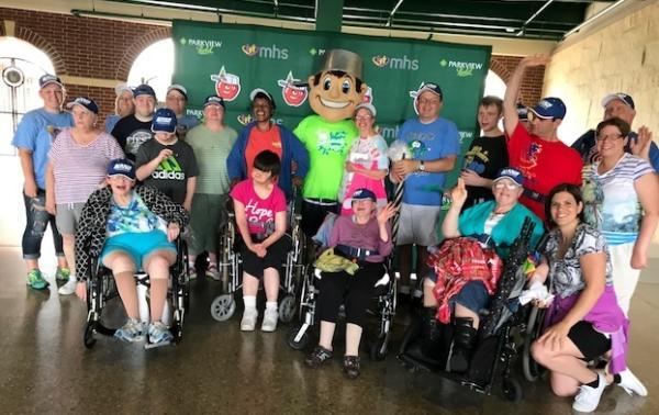 Disability Awareness Day TinCaps Game