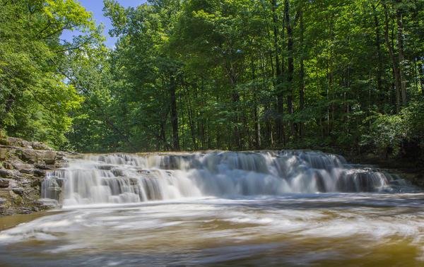Waterfalls in Cayuga County
