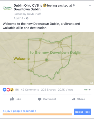 New Downtown Dublin Facebook