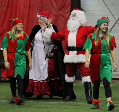 Santa comes to Park City