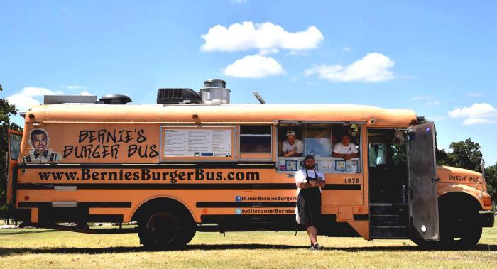 Bernie's Burger Bus Food Truck in Houston