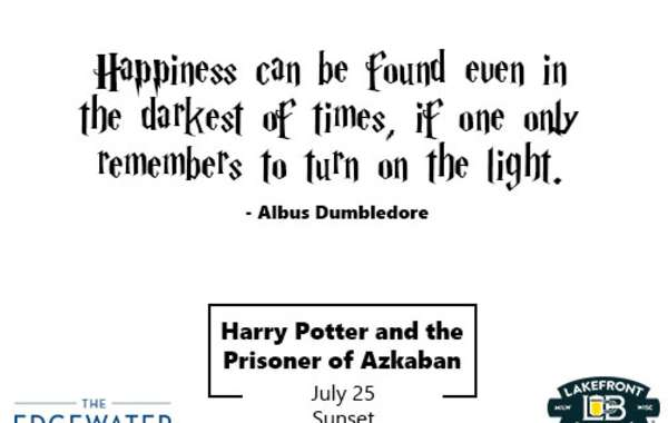 Facts and A Flick Presented by Lakefront Brewery I Harry Potter and the Prisoner of Azkaban