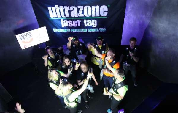 Laser Tag at Brat Fest