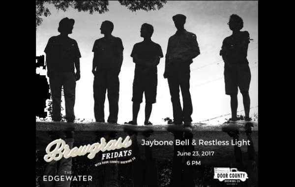 Brewgrass Fridays with Door County Brewing Co.: Jaybone Bell & Restless Light