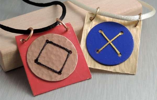 Laced Metal Pendants with Alison Lesniak