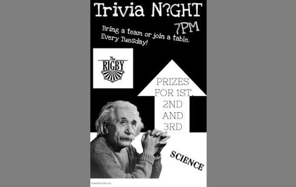 Trivia Night at The Rigby