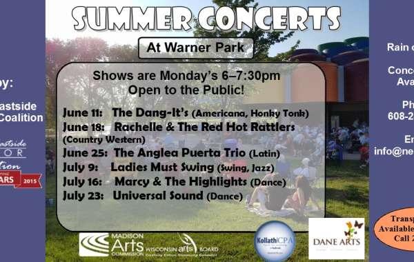 NESCO's Summer Concert Series